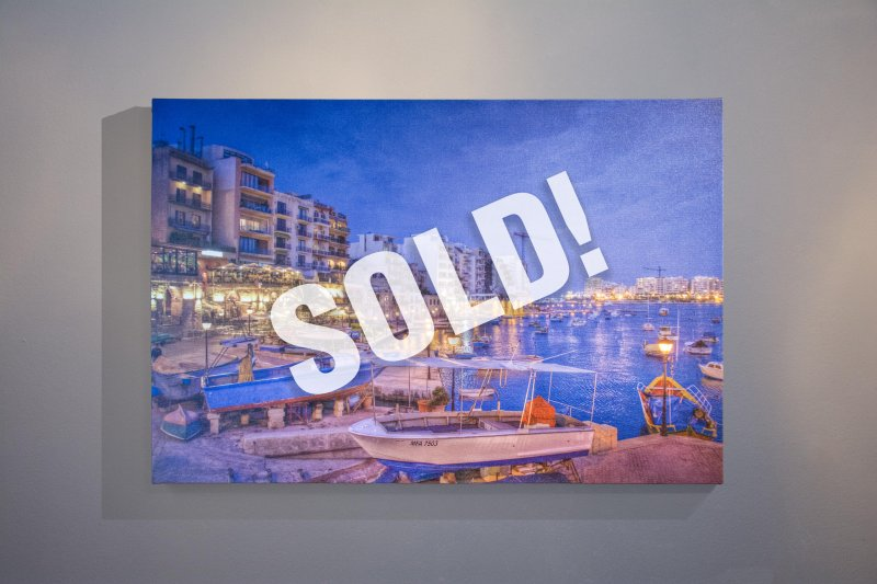 "Laura Dennie ""Malta 3"" - SOLD"