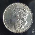 1885, PCGS, UNC, Cert-4520188510