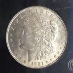 1921, PCGS, UNC, Cert-4520192101