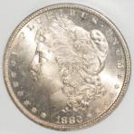 1880-S S$1 MS65 Cert. No. 193943-020