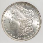 1888 S$1 MS64 Cert. No. 1958719-026