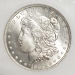 1900-O S$1 MS64 Cert. No. 1660003-019